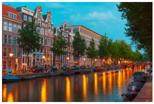 Party holiday to Amsterdam
