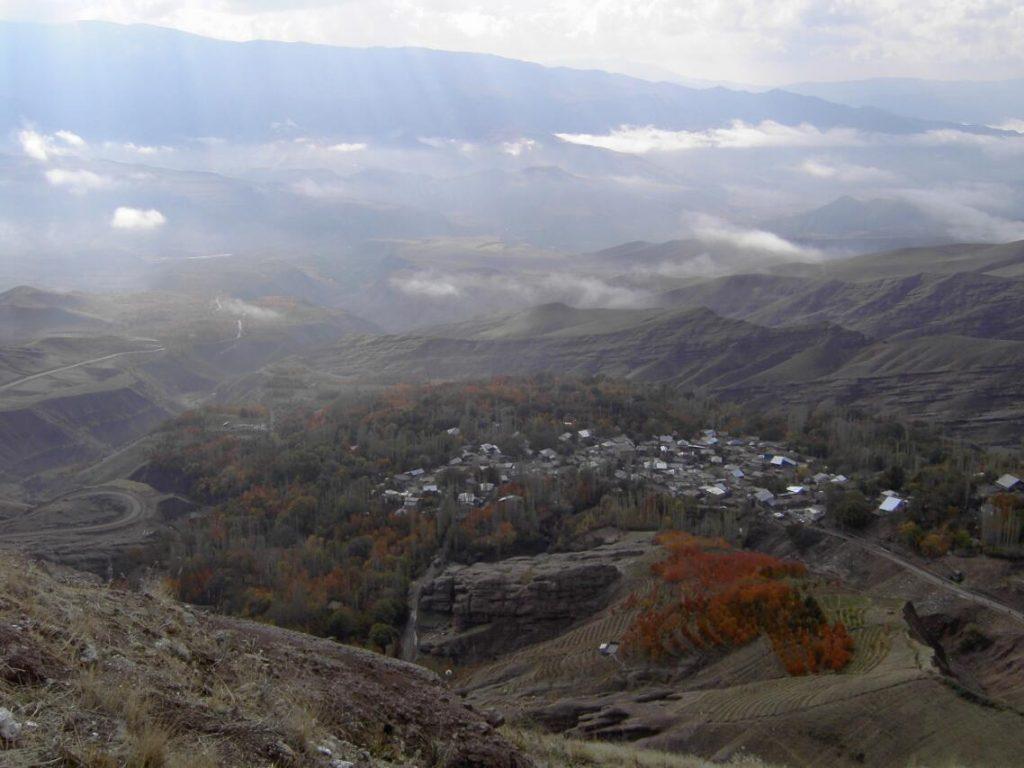 Iran Mountain village in the Alborz