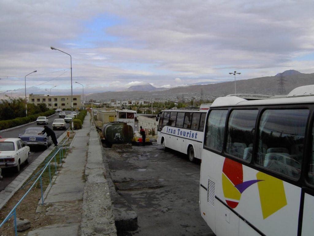 Iran Tabriz bus station