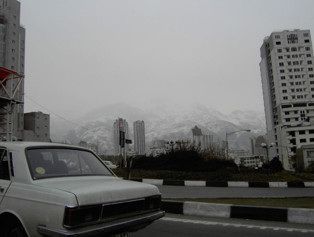 New living space in northern Tehran