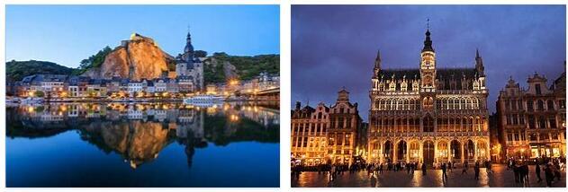 Attractions in Belgium