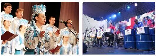 Belarus Arts and Music